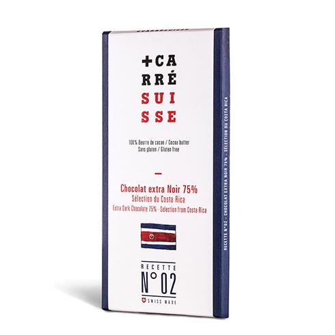 カレスイス 75%ハイカカオ コスタリカ産 100g