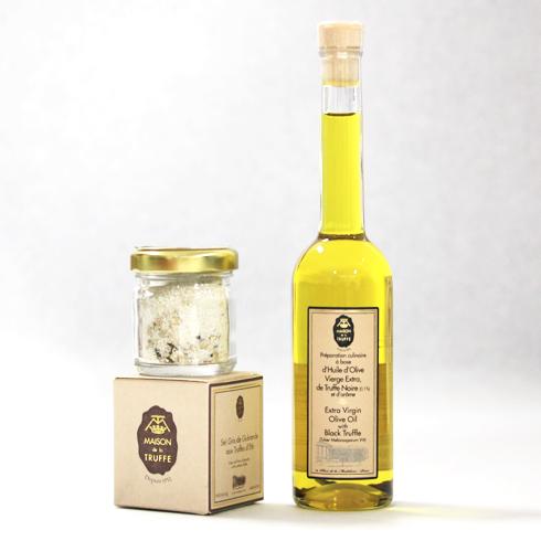 メゾン・ドゥ・ラ・トリュフ オリーブオイルゲランド塩のセット